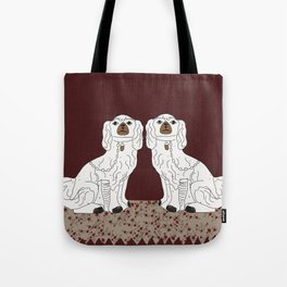 Staffordshire Dogs Tote Bag