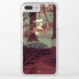 6 of Swords Clear iPhone Case