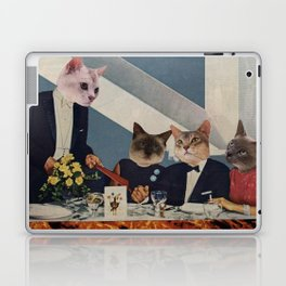 Cats Dine Laptop & iPad Skin