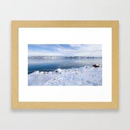 Bear Lake Beauty Framed Art Print
