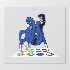 Twister world champion Canvas Print