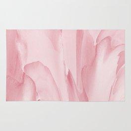 Precious Pink Folds of a Flower Rug