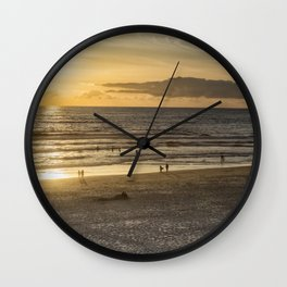 Waiting for the Sun to Set Wall Clock