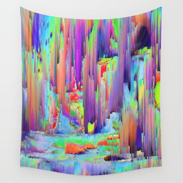 Pixel Sorting 43 Wall Tapestry