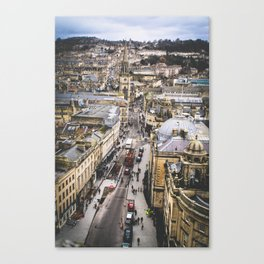 Bath Overlook Canvas Print