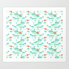 Jellie Pattern Art Print