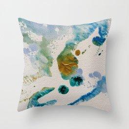 Sky Life Transmogrified Throw Pillow