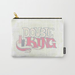 DOUBLE KING: Title Card Carry-All Pouch