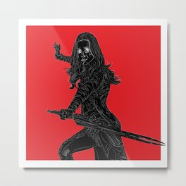 Gamora, GuardiansOfTheGalaxy Metal Print