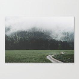 road - Landscape Photography Canvas Print