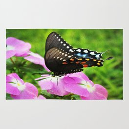 Swallow Tail Butterfly Rug