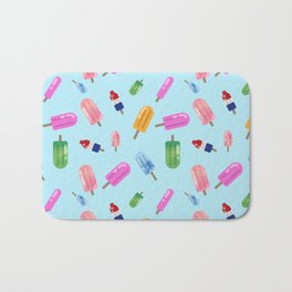 Popsicle Party Bath Mat