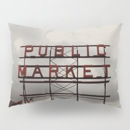 Public Market Pillow Sham