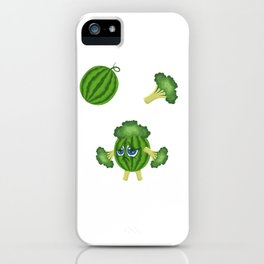 Melon Broccoli Sad Vegan And Emotional Gift iPhone Case