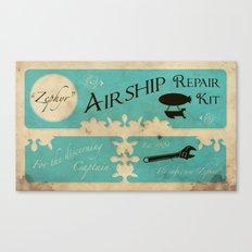 Airship Repair Kit Canvas Print