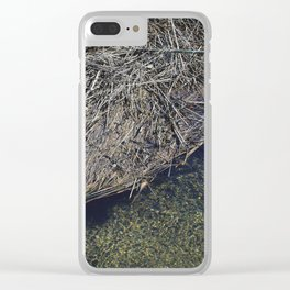 Eco Fur Clear iPhone Case