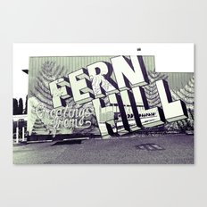 Greetings from Fern Hill Canvas Print