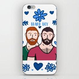 Beard Boy: Couple of Men - Karl & Daan iPhone Skin