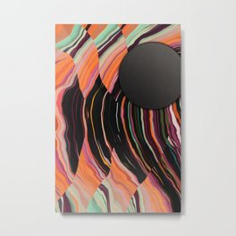 Titanium Sun Metal Print