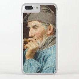 ANKER, ALBERT (1831 Ins 1910) Bauer whistle. 1908th Clear iPhone Case