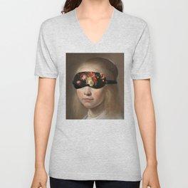 Blindfold Unisex V-Neck