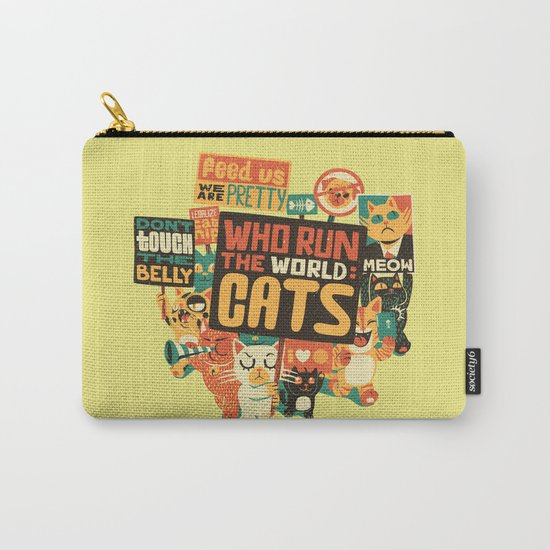 Who Run The World Cats Carry-All Pouch
