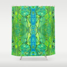 mirror 10 Shower Curtain
