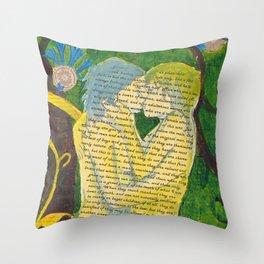 Split Aparts Detail 3 Throw Pillow