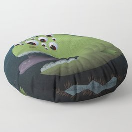 Giant Mutant Fish Floor Pillow