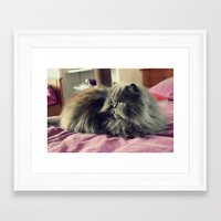 persian Framed Art Prints featuring Persian by Astrid P