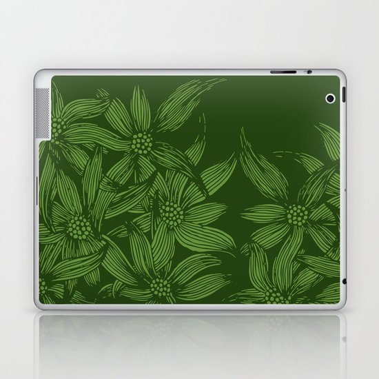 MAUA flowers 1 Laptop & iPad Skin