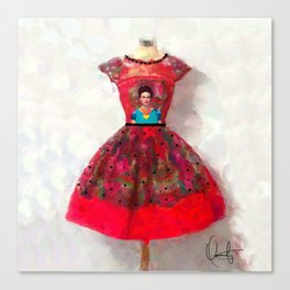 O'h So Frida  Canvas Print