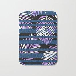 Tropical Stripe Bath Mat