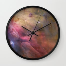 Cosmic clouds and stellar winds (LL Orionis and Orion Nebula flow) (NASA/ESA Hubble Space Telescope) Wall Clock