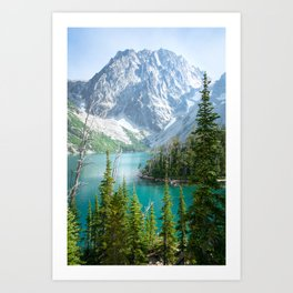 Lake Colchuck Art Print