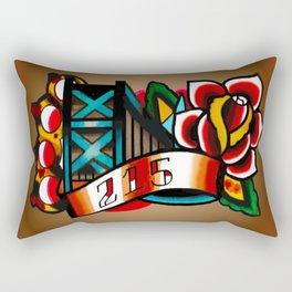 The BFB Rectangular Pillow