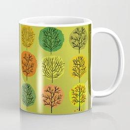 Tidy Trees All In Pretty Rows Coffee Mug