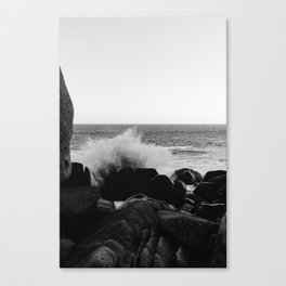 Monochrome Mexico Canvas Print