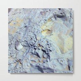 Moon Stone Metal Print