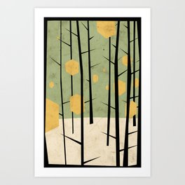 Yeti Dreams Art Print