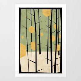 Yeti Dreams Art Print
