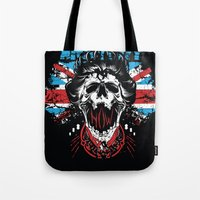 anarchy Tote Bags featuring Anarchy queen by Tshirt-Factory