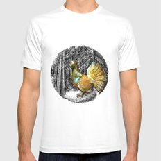 Call for love Mens Fitted Tee White MEDIUM