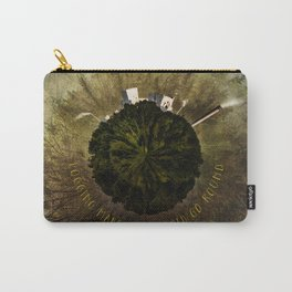 Logging Makes the World Go Round Mini Planet Orb Carry-All Pouch