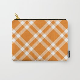 Simply Check Stripes Carry-All Pouch