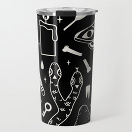 Curiosities: Bone Black Travel Mug