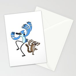 Mordecai & Rigby - Regular Show Stationery Cards