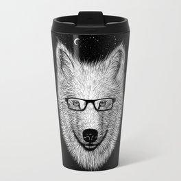 WHITE SPECTACLE Travel Mug