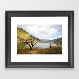 Cregennen Lake, Snowdonia Framed Art Print