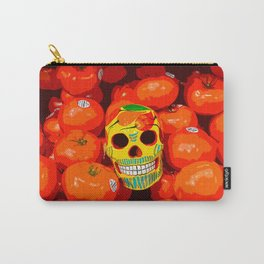 Skull & Tomatoes Carry-All Pouch